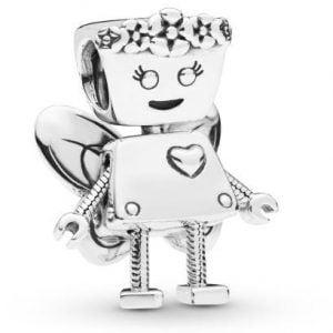 CHARM PLATA HADA BELLA ROBOT PANDORA 797856