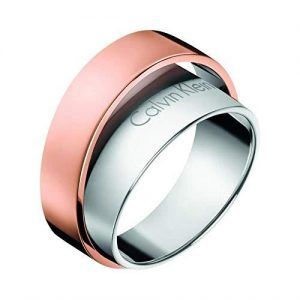 Calvin Klein ANILLO RING UNITE BICO SSTPVD PO PNK 08 KJ5ZPR200108