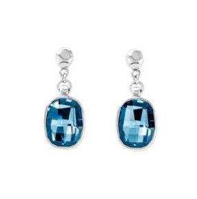 PENDIENTES UNO DE 50 piedras azules facetadas PEN0754AZUMTL0U