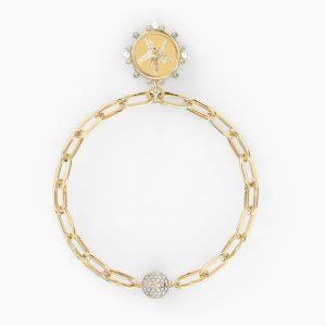 pulsera-the-elements-star--blanco--baño-tono-oro-swarovski-5572644