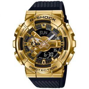 CASIO G-SHOCK NEGRO Y DORADO GM-110G-1A9ER