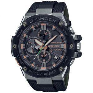RELOJ CASIO G-SHOCK Bluetooth negro indices IP GST-B100GA-1AER