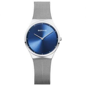 Reloj Bering chica malla y esfera azul 31mm 12131-008
