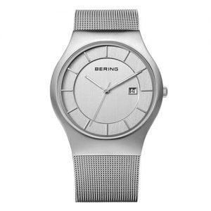 Reloj Bering chico malla plateado 38mm 11938-000