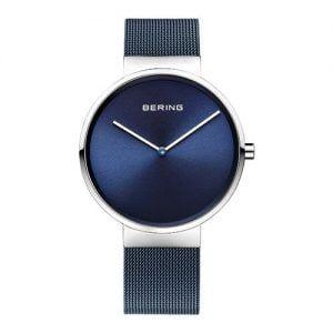 Reloj Bering chico malla y esfera azul 39mm 14539-307
