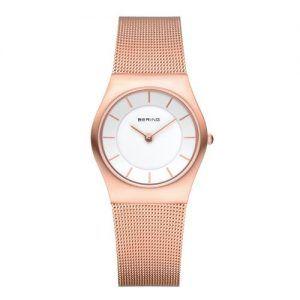 Reloj Bering malla rosado 30mm 11930-366