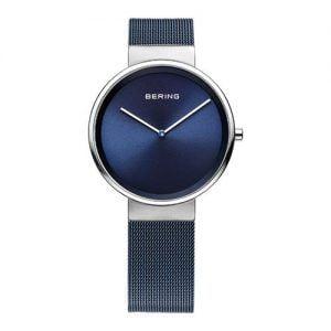 Reloj Bering malla y esfera azul 31mm 14531-307
