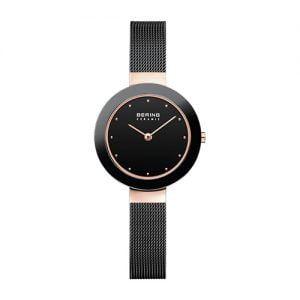 Reloj Bering negro cerámica 29mm 11429-166