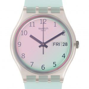 Reloj Swatch AZUL CLARO ULTRACIEL ge713