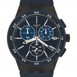 Reloj Swatch Blue Steward crono azulon susb417