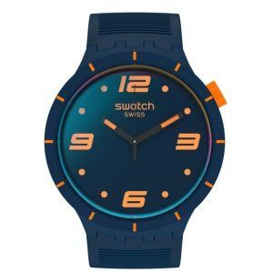 Reloj Swatch Futuristic Blue correa azulona SO27N110