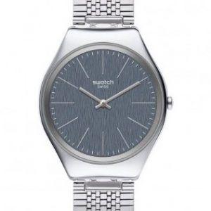 Reloj Swatch Skin esfera gris azulada skinsportchic SYXS122GG