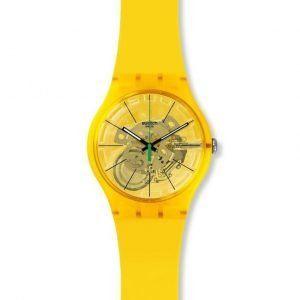 Reloj Swatch amarillo Bio Lemon SUOJ108