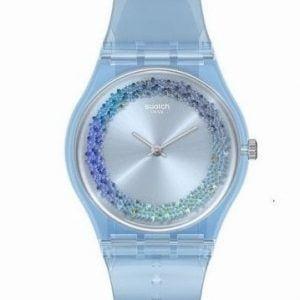 Reloj Swatch azul claro azzura GL122