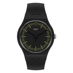 Reloj Swatch blankyellow negro y amarillo SUOB184