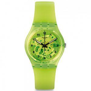 Reloj Swatch color lima LEMON FLAVOUR GG227