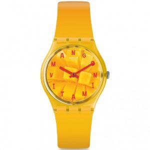 Reloj Swatch color mando Coeur de Mangue GO119