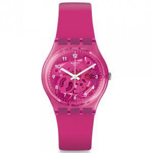 Reloj Swatch color rosa chicle GUM FLAVOUR GP166