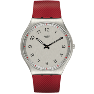 Reloj Swatch correa roja Skinrouge SS07S105