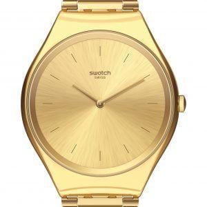Reloj Swatch dorado SKINLINGOT syxg100GG