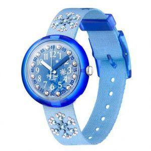 Reloj Swatch flik flak azul claro circonitas en la correa FPNP073