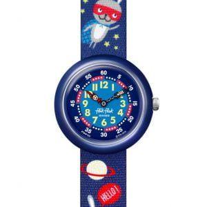 Reloj Swatch flik flak cohetes espaciales FBNP166