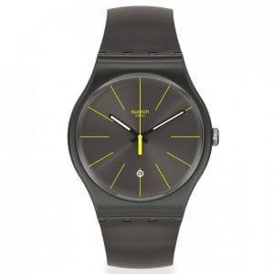 Reloj Swatch infices amarillo Charcolazing SUOB404