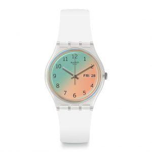 Reloj Swatch irisado ultrasoleil GE720