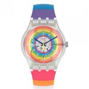 Reloj Swatch multicolor Open Summer SUOK148