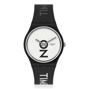 Reloj Swatch negro Always there on time GB328