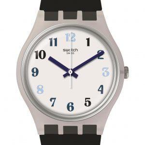 Reloj Swatch night sky rayas en azules ge275