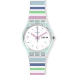 Reloj Swatch rayas colores pastel PASTEL ZEBRA GL702