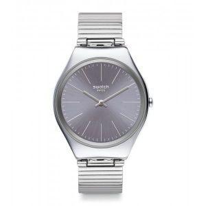 Reloj swatch skin esfrea gris indices blancos syxs123gg