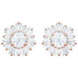 SUNSHINE PENDIENTES DE PRESION rosados crsitales blancos SWAROVSKI 5459597