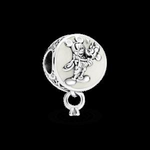 Charm plata amor eterno colgante Disney Mickey y Minnie Siempre te querré Pandora 799395c01