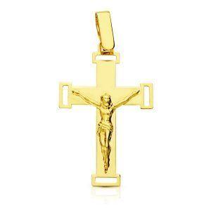 Cruz oro con CRISTO 16382