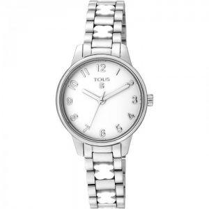 Reloj Tous Beary en acero de armys con ositos en blanco 000351560