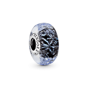 Charm Pandora rose Cristal de Murano Azul Oscuro 798938C00