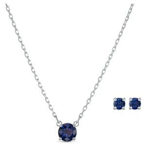 conjunto-attract-round--azul--baño-de-rodio-swarovski-5536554