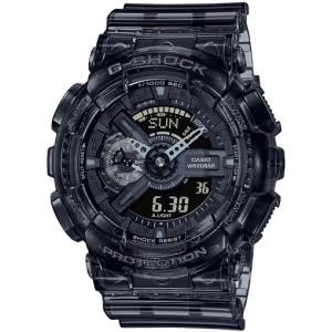Reloj Casio G-Shock Skeleton gris oscuro transparente GA-110SKE-8AER