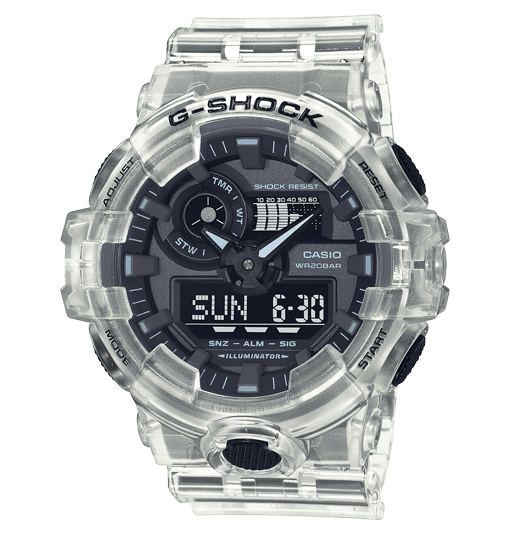 Reloj Casio G-Shock Skeleton transparente GA-700SKE-7AER