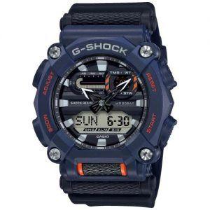 Reloj Casio G-Shock azul marino y naranja GA-900-2AER