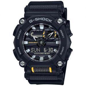 Reloj Casio G-Shock megro y amarillo GA-900-1AER