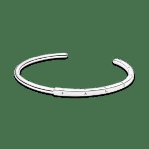 Pulsera rigida Pandora Signature I-D 17 centimetros 599493C00-2