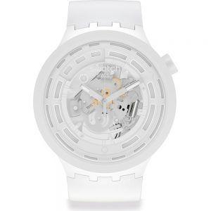 Reloj Swatch big bold c-white blanco SB03W100