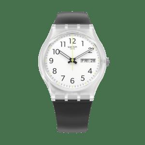 Reloj Swatch originales rinse repeat black GE726